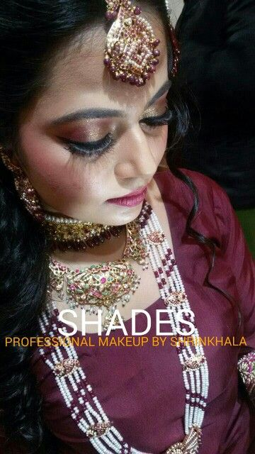 Indian myslim# bridal makeup# beautiful indian bride# traditional jwellery# bridal eye makeup