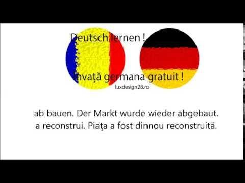 Verb germană Ab Bauen audio. Exerciţiu oferit gratuit - verb ab bauen audio. Ascultă exerciţiul audio cu pronunţia verbului Ab Bauen. Accesaţi şi celelalte pagini ale site-ului!