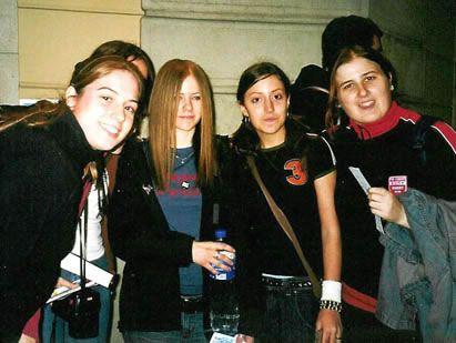 Avril Lavigne (Concierto Madrid) - 27 noviembre 2002 - avril barcelona - AvrilPix Gallery - The best image, picture and photo gallery about Avril Lavigne - AvrilSpain.Com