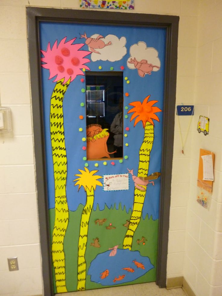 Images Of Classroom Window Decoration ~ Dr seuss door decorating ideas iron