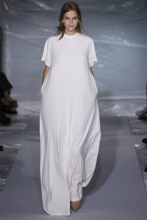 maison  martin margiela pfw ss13 - wedding dress?