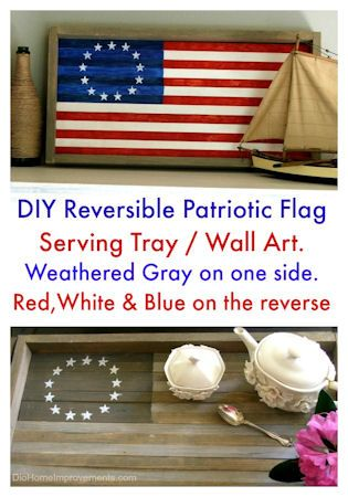 Cool American Flag Theme Wood Wall Art By WeatheredWoodWalls On