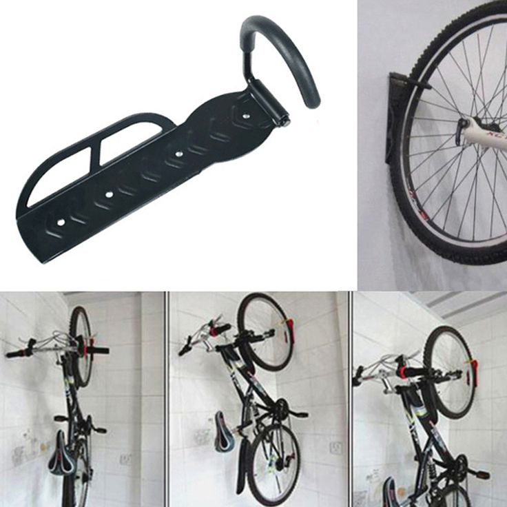 High Quality Strong Steel Cycling Bicycle Storage Rack-Wall Mounted Bike Hanger Hook Rack Holder with Screws 30kg Free Shipping