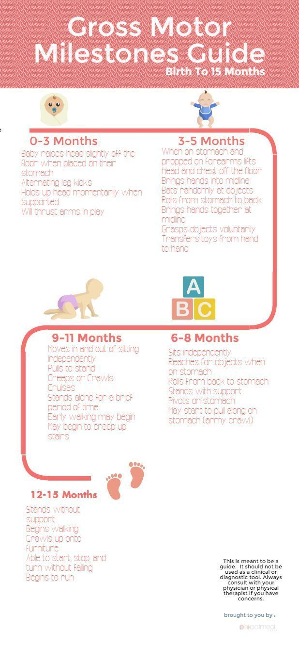 Gross Motor Milestones For The First Year Free Printable