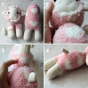 ovejas con calcetin paso 13