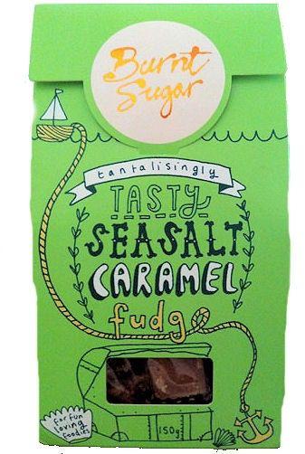 Burnt Sugar Seasalt Caramel Fudge - pehmeä kermakaramelli