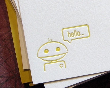 letterpress AND robots...swoon