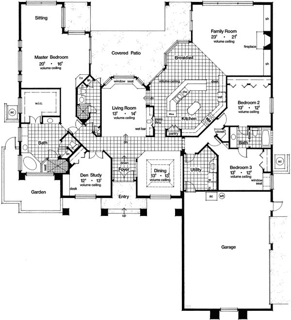 14 best Narrow Lot House Plans The Sater Design Collection images