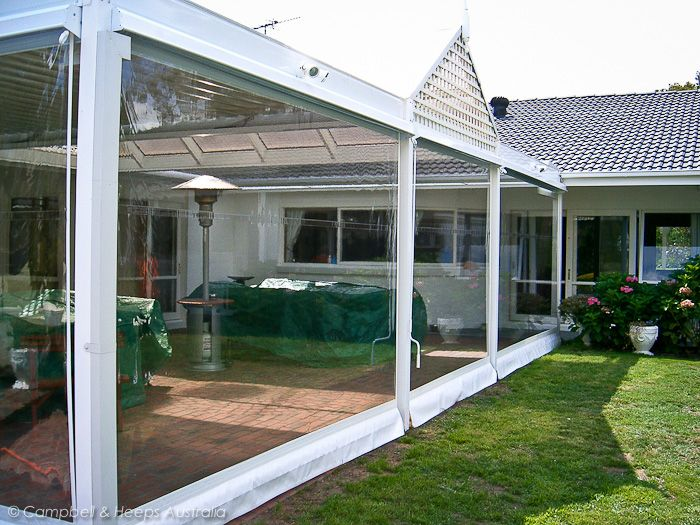 DescriptionClear PVC Blinds (Also known as Café Blinds)    Clear PVC of Café blinds are the most commonly used blind for enclosing your pergola or entertainment area.  Campbell & Heeps Melbourne offer the highest grade clear PVC, 0.75mm thick Japanese material. Clear PVC blinds are manufactured