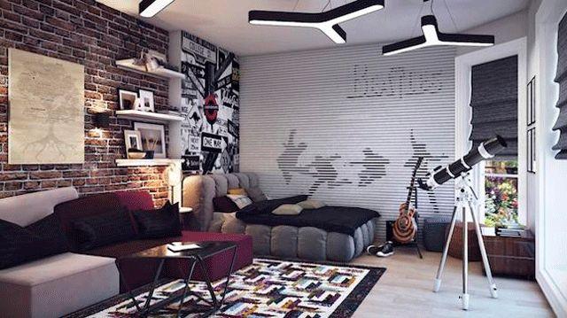 TENDENCIAS PARA DORMITORIOS DE JÓVENES VARONES : DORMITORIOS: decorar dormitorios fotos de habitaciones recámaras diseño y decoración