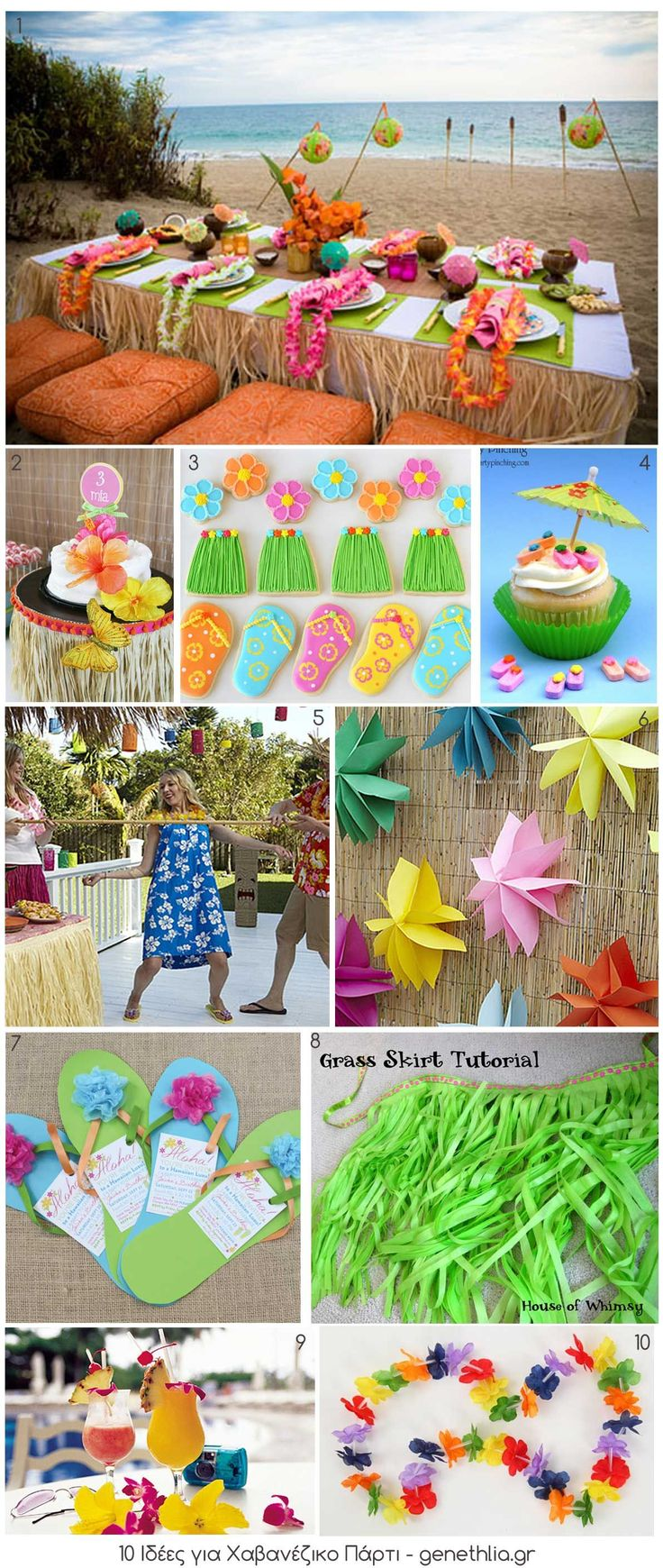 Hawaiian Luau Birthday Party Ideas | Photo 1 of 33