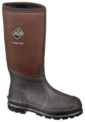 The Original Muck Boot Company Chore Cool High 15'' Rubber Work Boots for Men - 10 M