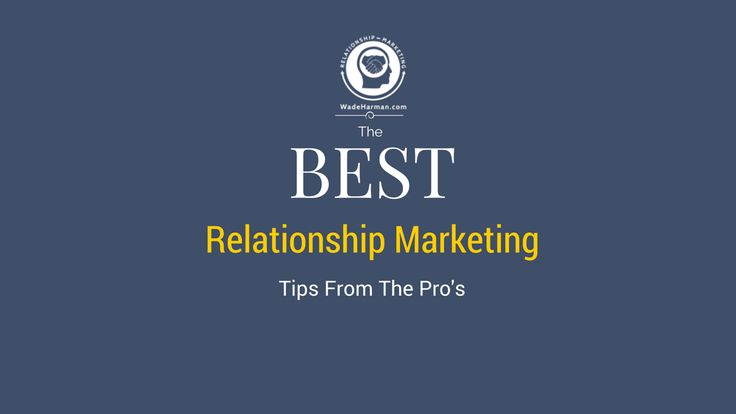 The Best Relationship #Marketing Tips For Social Media