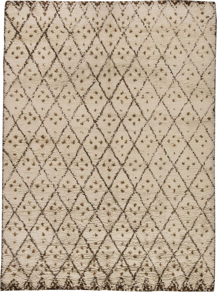 Moroccan Rugs, Moroccan White Rug