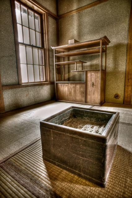 Japanese room at Nishimura House