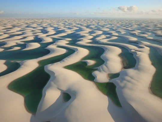 Sand Dunes in Brazil @George Steinmetz: Maranhen National, Brazil, Desert, National Geographic, Sands Dune, Golf Cour, National Parks, Photo, Lençói Maranhen