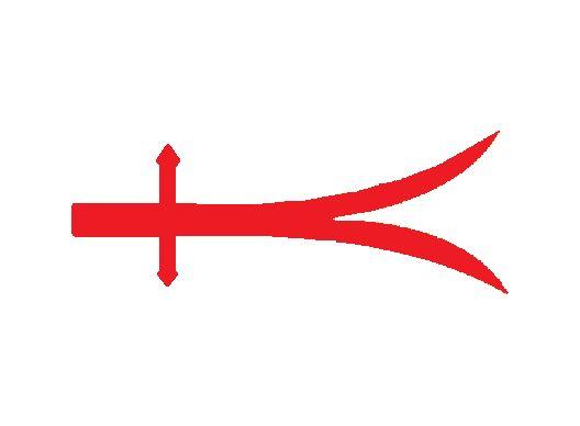 """Yeniçeri Bayrağı (1)-1361/1826  Bu bayrak;Padişah'ın da mensubu olduğu """"1.Yeniçeri Ortasına"""" aittir.Yeniçerilerin son demlerinde en çok bu bayrak tercih edilmiştir.Bazı kaynaklarda üzerinde kırmızı daire içinde,pençe(el motifi-Fatma Eli) de olduğu geçmektedir."""