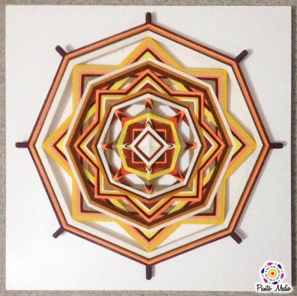 Mandala de la Alegría. Este mandala te ayudara a tomar decisiones y aclarar la mente. Evocando alegría y entusiasmo. www.facebook.com/Ptomedio