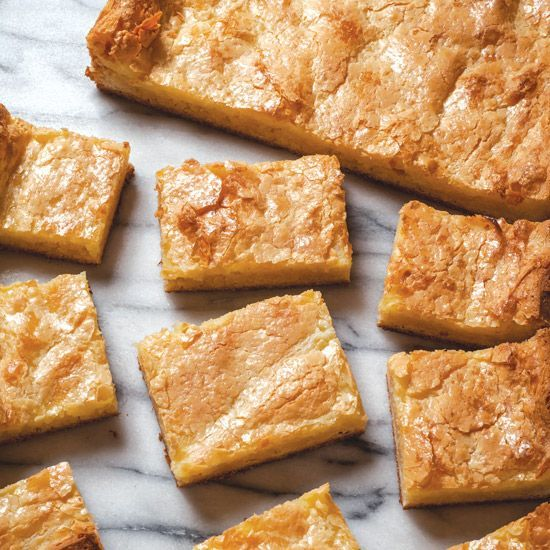 Quick and easy, these decadent chess squares are a classic Southern treat.