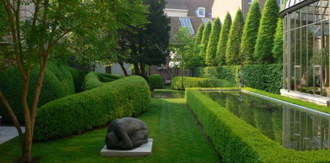 Belgium Landscape Architect Jacques Wirtz Gardens   Via Ross Cassidy