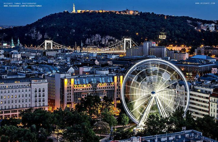 Budapest with the Sziget Eye