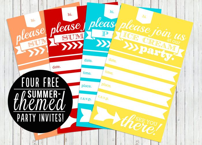 best 25+ summer party invites ideas only on pinterest | luau, Party invitations