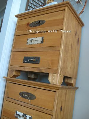DIY: Door Plate and Twine Drawer Handles...I Love These !