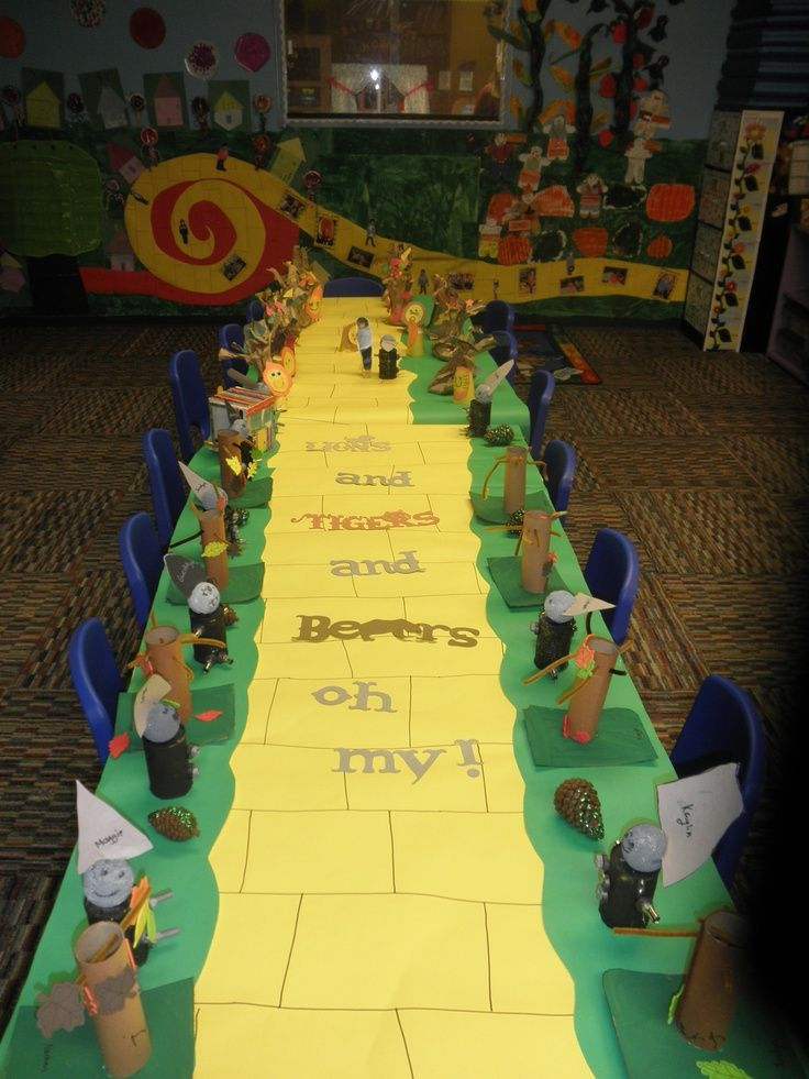 wizard of oz bulletin board ideas | Wizard oz. Open house 2013