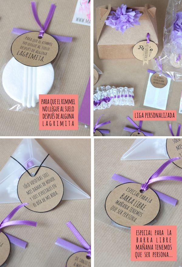 ideas para sorprender a tus damas de honor via bodabellaes