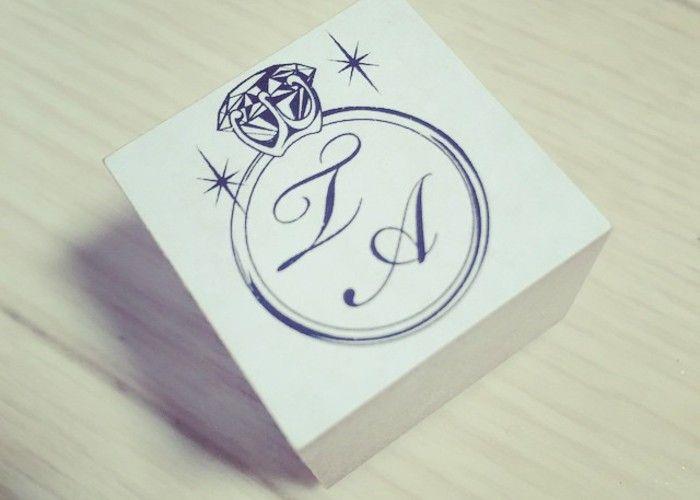 2人だけのオリジナルロゴを作ろう♡結婚式で大活躍のイニシャルスタンプお手本デザインまとめ*
