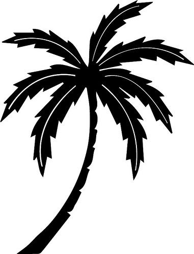 Palm Tree The Craft Chop Free Svg For Cricut And