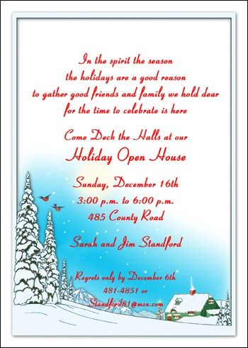 36 best Christmas Party Invitations images on Pinterest - family gathering invitation wording