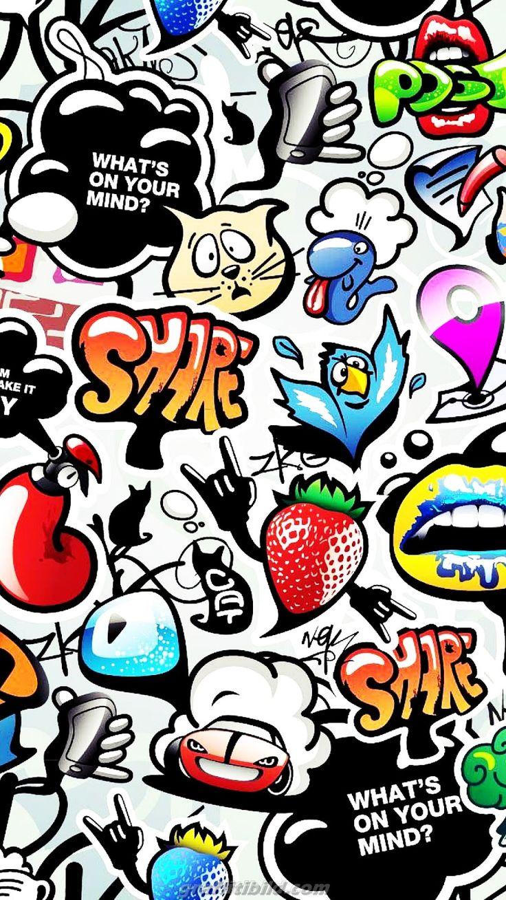 Pin on Graffiti Wallpaper Backgrounds