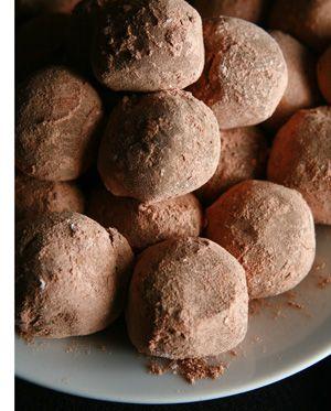 Got to try this recipe...Chocolate Chai truffles!