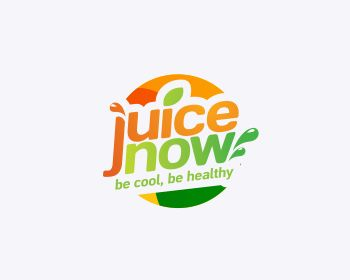Logo design entry number 75 by Boddhi | Juice Now logo contest