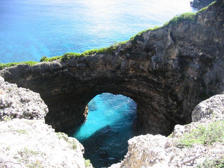 Le site naturel Gueule grand Gouffre à Marie-Galante, une arche naturelle creusée à voir absolument !