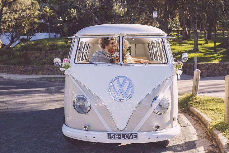 S + S + VW = amazeballs!  Kombi Coast 58 Pic Blue Tulip Imaging Planning Creative Weddings Floral Alstonville Florist