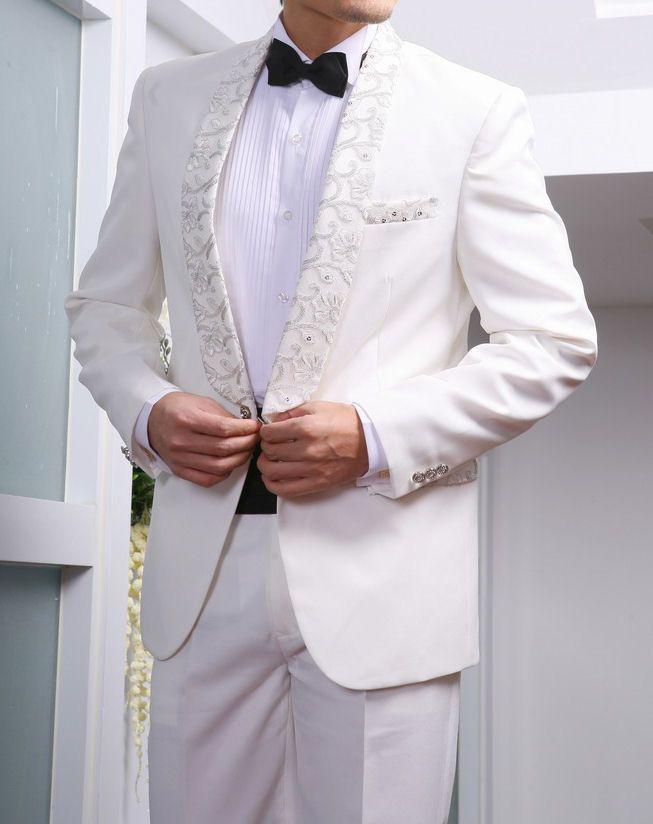 Wsrna putih model jas pengantin terbaru modern harga murah kualitas terbaik dan desain terkeren di tahun 2015