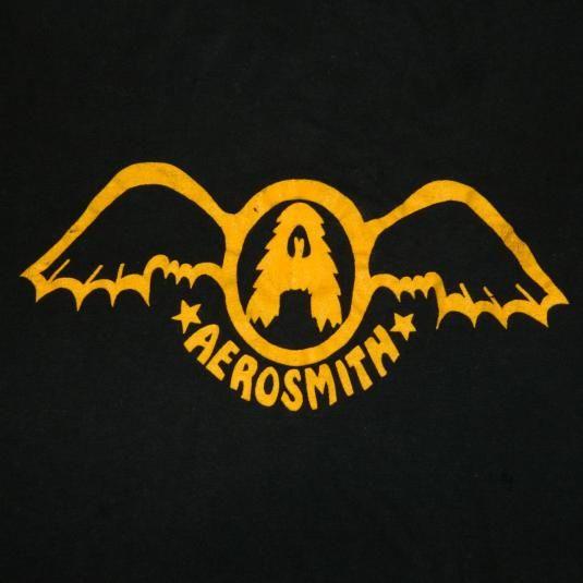 Aerosmith Logo from '74! #aerosmith #steventyler