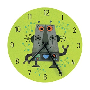 Mudpuppy Robot Clock