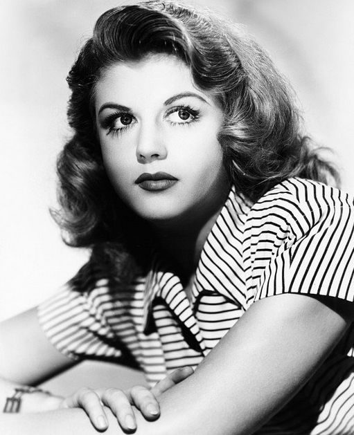 If looks could kill, this pretty lady would've written about herself. Angela Lansbury