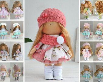 Love doll Fabric doll Summer doll handmade от AnnKirillartPlace