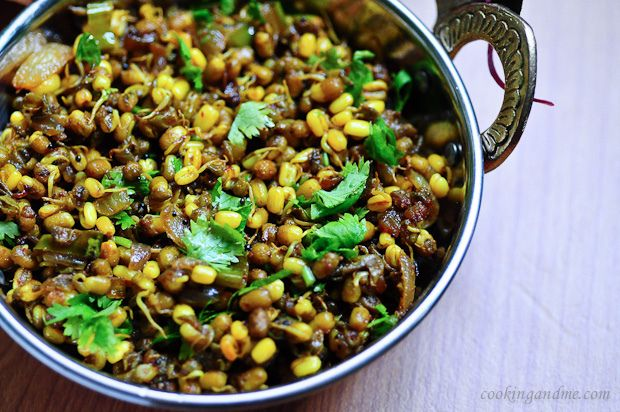 Moong Usal Recipe - How to Make Moong Usal Dry Version