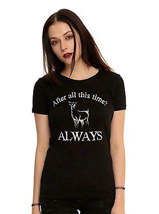 Harry Potter Always Doe Girls T-Shirt,