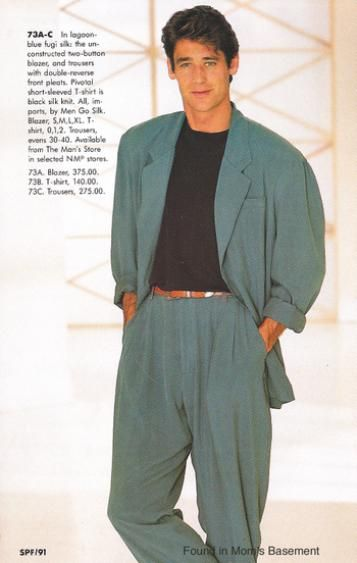 1980's FASHION, the perfect look for Ted Hawthorne. http://afoulplay.com/mysteries/hotel-hawthorne-haunts/