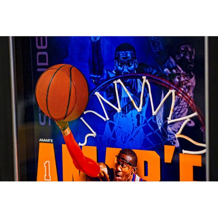 Steiner Sports Amar'e Stoudemire New York Knicks 20'' x 32'' Breaking Through Collage, Multicolor