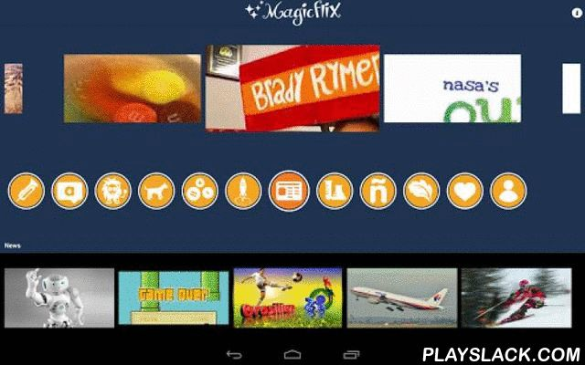 Magicflix Fun Videos For Kids  Android App - playslack.com , Safe curated age-appropriate videos for young kids 12 and under, with a blend of fun and education. Magicflix delivers worry free parenting and delighted kids. All free for a limited time! Hours of endless entertainment for kids with positive messaging! We have 1000+ videos and many channels!- Science and Math are fun on Magicflix! Choose from Sick Science's cool experiments, NASA's eClips for kids and the Digits – a live action…