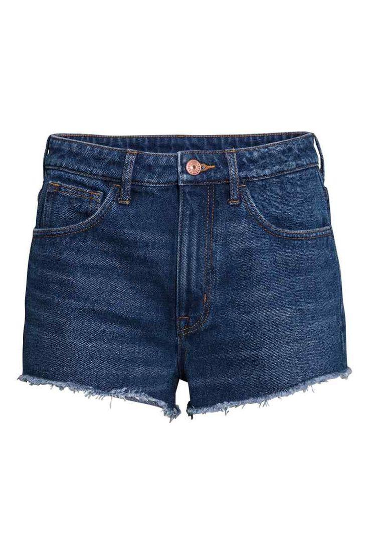 Short en jean Taille haute   H&M