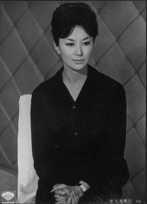 Ayako Wakao. The actress that she played an active part at the mid-1900s.