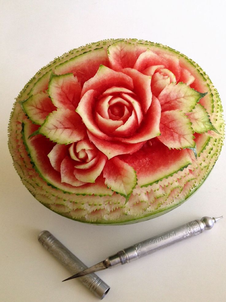 Click to VOTE for this #watermeloncarving! By Catalina Feng